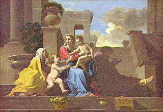 Poussin Heilige Familie