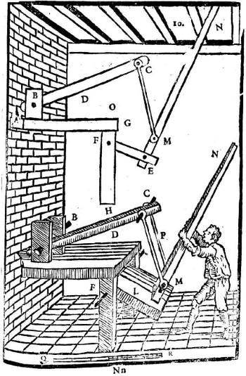 Alessandro Capra: Teigmaschine zur BrotteigherstellungX
