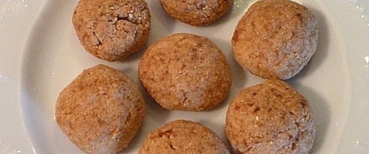 Amaretti sardi - Sardische Mandelplätzchen