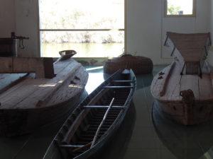 In den am Wasser gelegenen Ausstellungssaal fuhren früher die Boote mit ihrem Fang hinein.