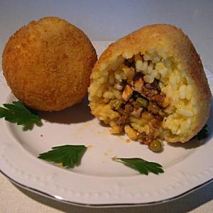 Arancini di riso - Sizilianische Reiskugeln   I-K.B