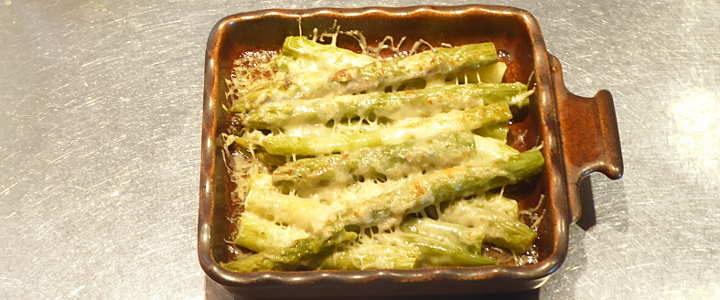 asparagi alla parmigiana