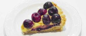 Crostata di ciliegie all'emiliana