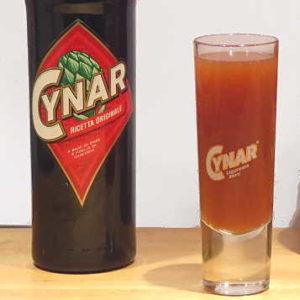 Longdrink Cynar con pompelmo