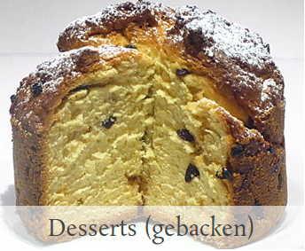 desserts gebacken