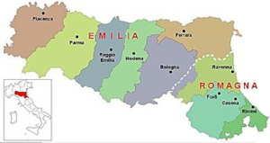 emilia-romagna landesteile