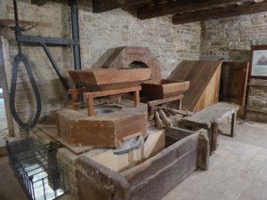 Der funktionsfähige Mühlenmechanismus