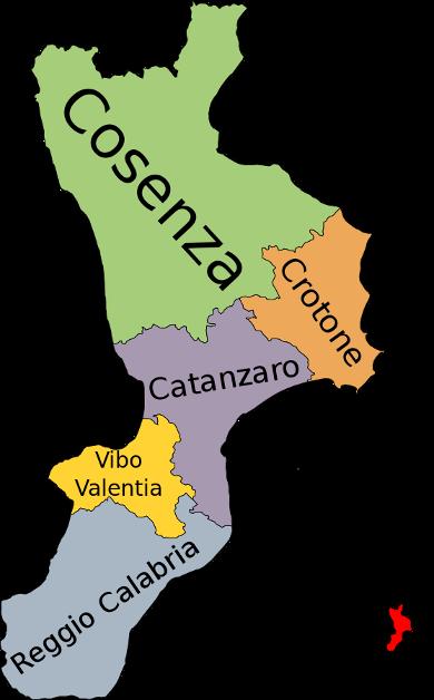 kalabrien-provinzen