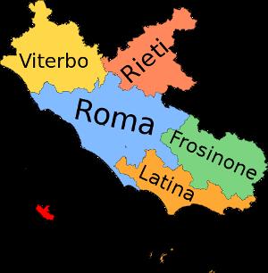 Latium Provinzen