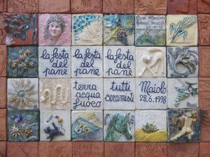Keramiken zur Festa del Pane