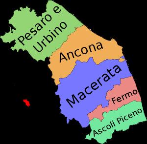 Provinzen der Marken