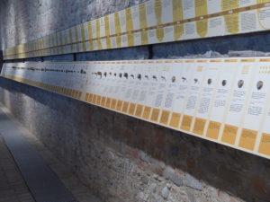 Knapp 100 Bronze-Matritzen für nahezu jede Nudelsorte werden ausgestellt