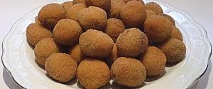 Olive all'ascolana - Frittierte gefüllte Oliven