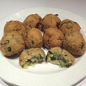 Pallotte di zucchine