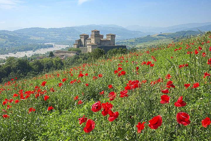 parma-schinken castello di torrechiara