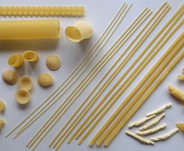 Pasta-Sorten