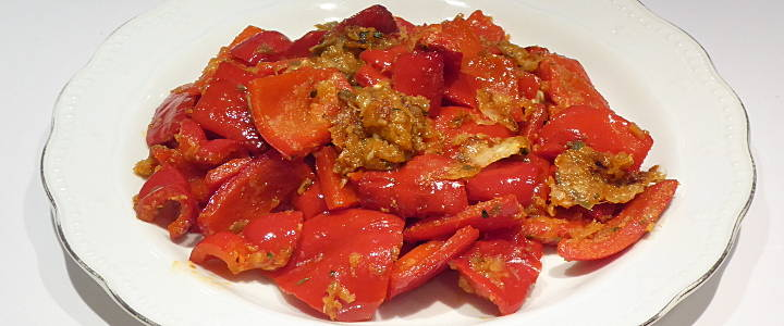 Peperoni ammollicati alla calabrese