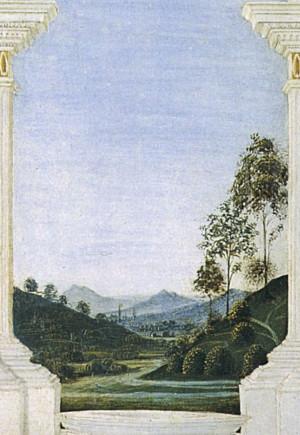 Perugino: Nicchia di San Bernardino