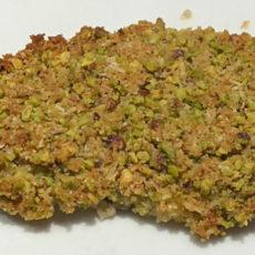Pesce spada in crosta di pistacchi
