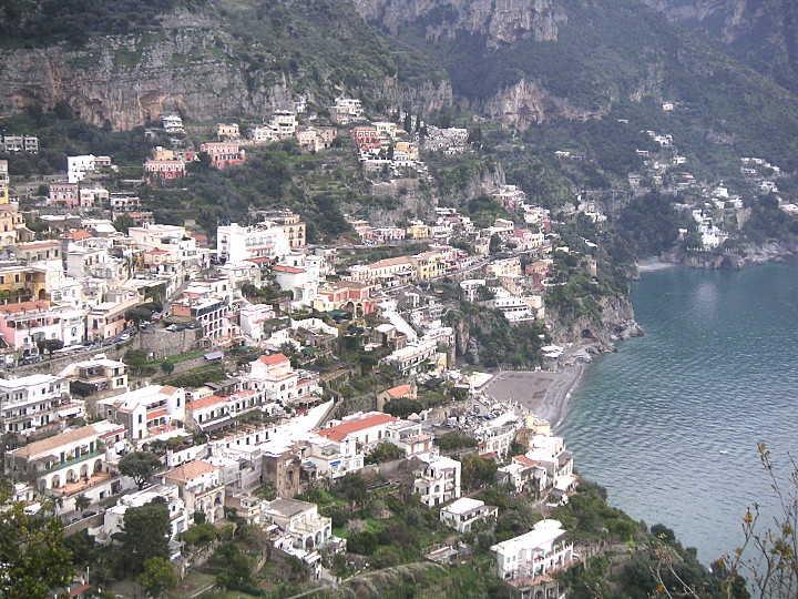 Positano (SA) an der Amalfiküste