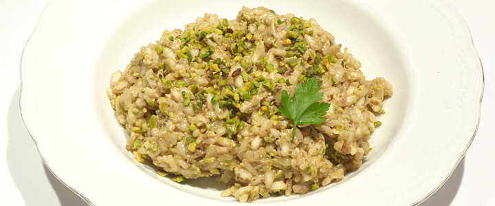 risotto ai pistacchi