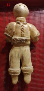 Puppe des San Calogero aus Naro (AG) - © Museum
