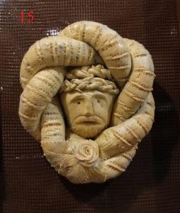 Brot, das sich füher Verlobte zu Ostern schenkten, aus Favara (AG) - © Museum