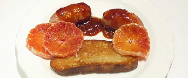 salsiccia all'arancia