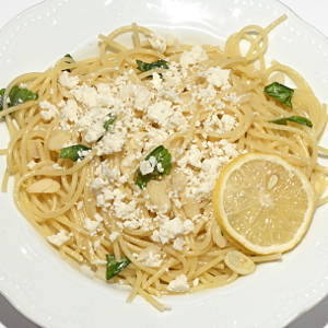 spaghetti al cedro