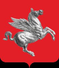 Flagge der Region Toskana