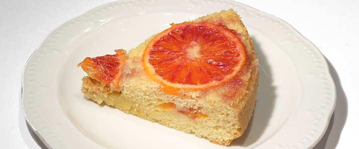 torta di arance