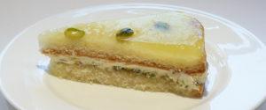 torta di cedro e pistacchio