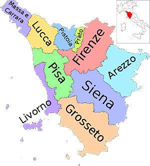 Toskana Provinzen