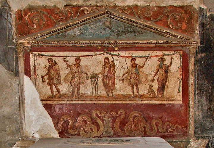 weinlese in pompei